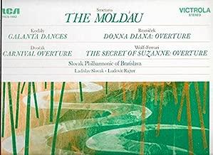 Smetana: The Moldau / Kodaly: Galanta Dances / Reznicek: Donna Diana: Overture / Dvorak: Carnival Overture / Wolf-Ferrari: The Secret Of Suzanne: Overture