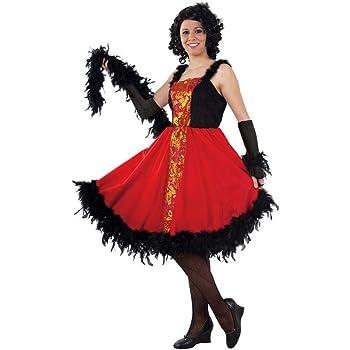 DISBACANAL Disfraz de Can Can Mujer - -, M: Amazon.es: Juguetes y ...