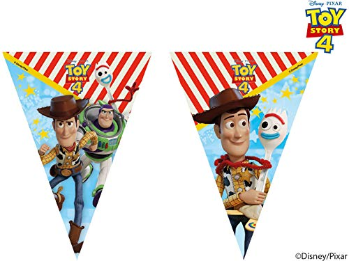 Toy Story 4 Plastic Flag Banner
