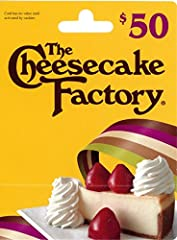 The Cheesecake Factory Gift Card can be used at any of The Cheesecake Factory restaurants nationwide. US chain of full-service restaurants, specializing more than 50 decadent cheesecakes and desserts. To find a location near you, please visit thechee...