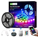 LE Smart LED Strip Lights, Music Sync Color Changing LED Tape Light, 16 Million Colors LED Lights for Bedroom, Home, Kitchen, TV, Party and Festivals