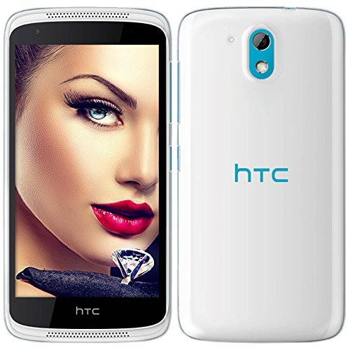 mtb more energy® Schutz-Hülle Clear & Slim für HTC Desire 526G / 526G+ / 526G Dual SIM (4.7'') - transparent - flexibel - TPU Case Schutz Hülle Tasche