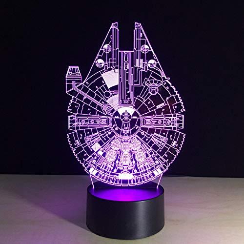 LZGPZXYD LED-tafellamp met kleurrijk LED-licht, welk cadeau-idee tafellamp in de vorm van een kind Touch Switch