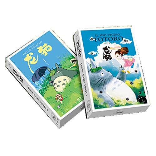 36 Sheets/Set Anime Spirited Away Postcard Miyazaki Hayao Greeting Card Birthday Gift Card Message Card