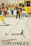 Wonderful Copenhagen Vintage Poster (Künstler: Vagnby)