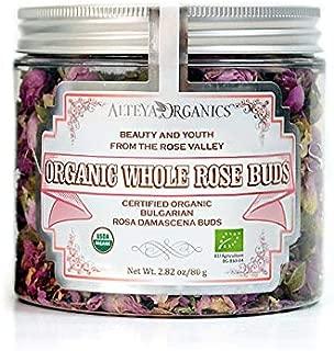 Alteya Organics USDA Organic Rose Bud Tea