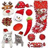 Dreamon Weihnachten katzenspielzeug, 10 StückKatze Toys Katzenminze Interaktiv Spielzeug Set Ball Mäuse Katze