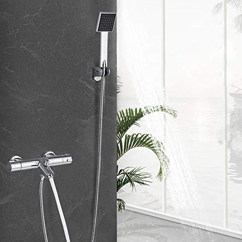 Berkalash - Grifo para bañera (cascada, grifo para bañera, grifo para baño)