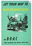 Unbekannt Poster Bangkok Thailand Boac, Größe 50 x 70 cm,