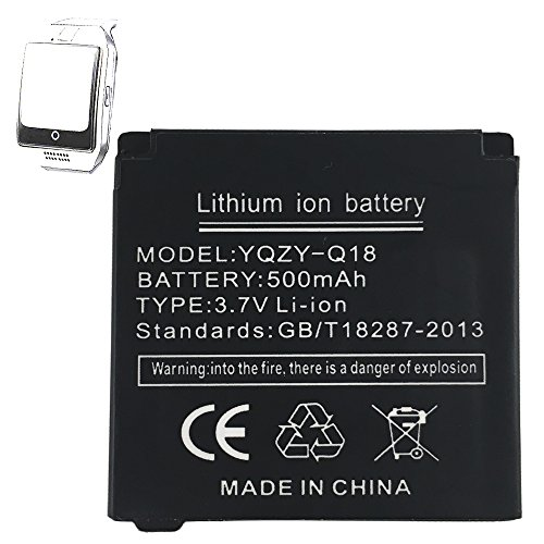 Smartwatch Lithium Batterie 500MAH für Smartwatch Q18