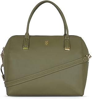 Baggit Women's Duffel Handbag (Green)