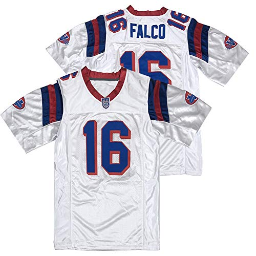 Mens #16 Shane Falco The Replacements Movie Football Jersey Stitched White Size XXL