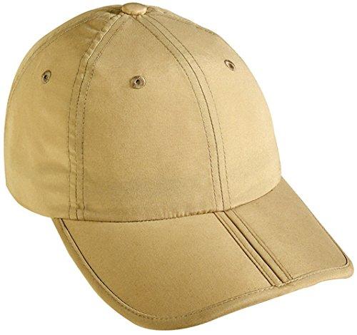 Myrtle Beach pack-a-cap Baseballkappe, Beige One size