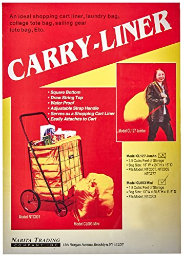 Easy Wheels Hooded Mini Carry-Liner, Yellow