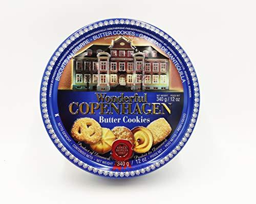 WONDERFUL COPENHAGEN 340gr - La ricetta originale dei biscotti Danesi al BURRO
