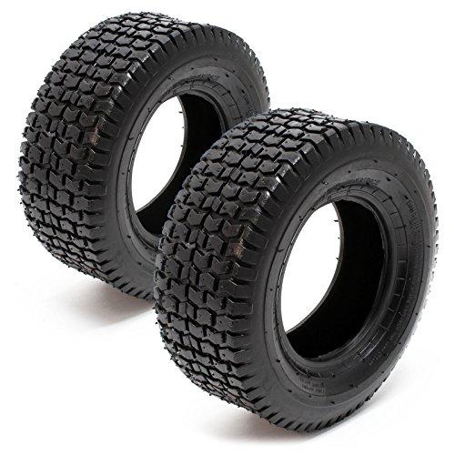 2x Reifenmantel Reifendecke Mantel Reifen Aufsitzmäher Rasentraktor 13x5.00-6 Stollenprofil