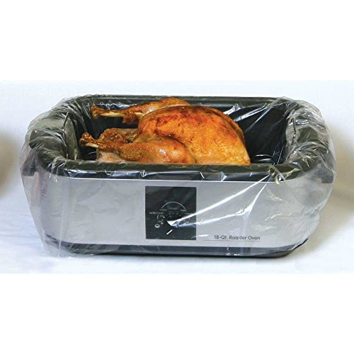 PanSaver Electric Roaster Liners, 18 Pack (36 Liners)