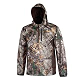 HABIT Men's Hardshell 1/3 Zip Waterproof Jacket