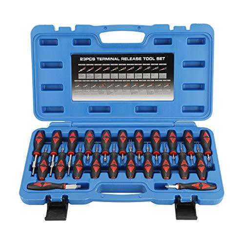 FreeTec 23 Tlg ISO Stecker Entriegelung Auspinnen Auspin Entriegeln KFZ Lösen Werkzeug