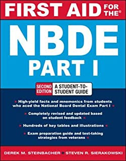 FIRST AID FOR THE NBDE PART 1 2/E (First Aid Series) (Pt. 1)