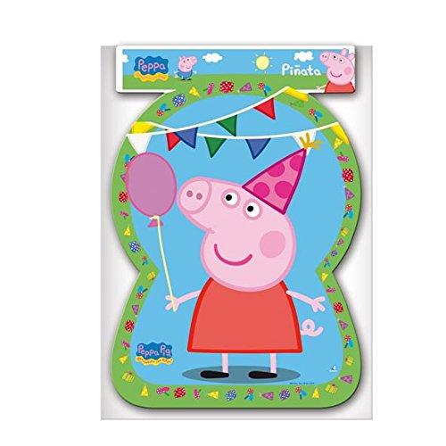 Peppa Pig - Piñata silueta, 46x65 cm (Verbetena 016000732)