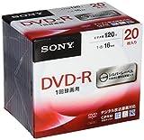 ソニー ビデオ用DVD-R CPRM対応 120分 1-16倍速 5mmケース 20枚パック 20DMR12MLDS