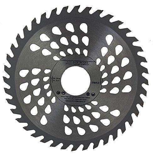 Hoja de sierra circular de alta calidad de 190 x 32 mm (sierra de habilidad) con perforación (reductor de 30 mm, 28 mm, 25 mm, 22 mm y 20 mm) para discos de corte circulares de madera, 40 dientes