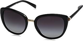 Bulgari 0BV8177 5018G 53 Gafas de sol Negro (BlackGradient) Unisex-Adulto