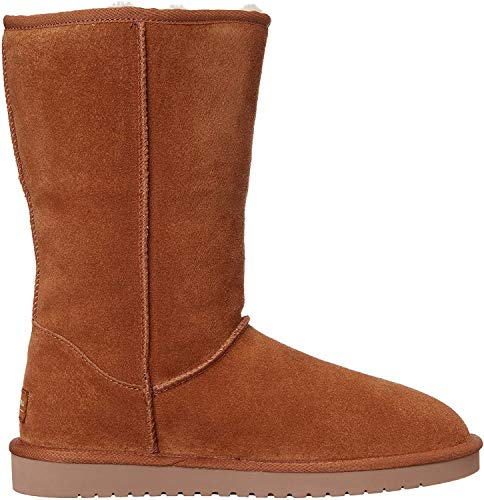 Koolaburra by UGG Women's Victoria Tall Fashion Boot, Chestnut, 09 M US