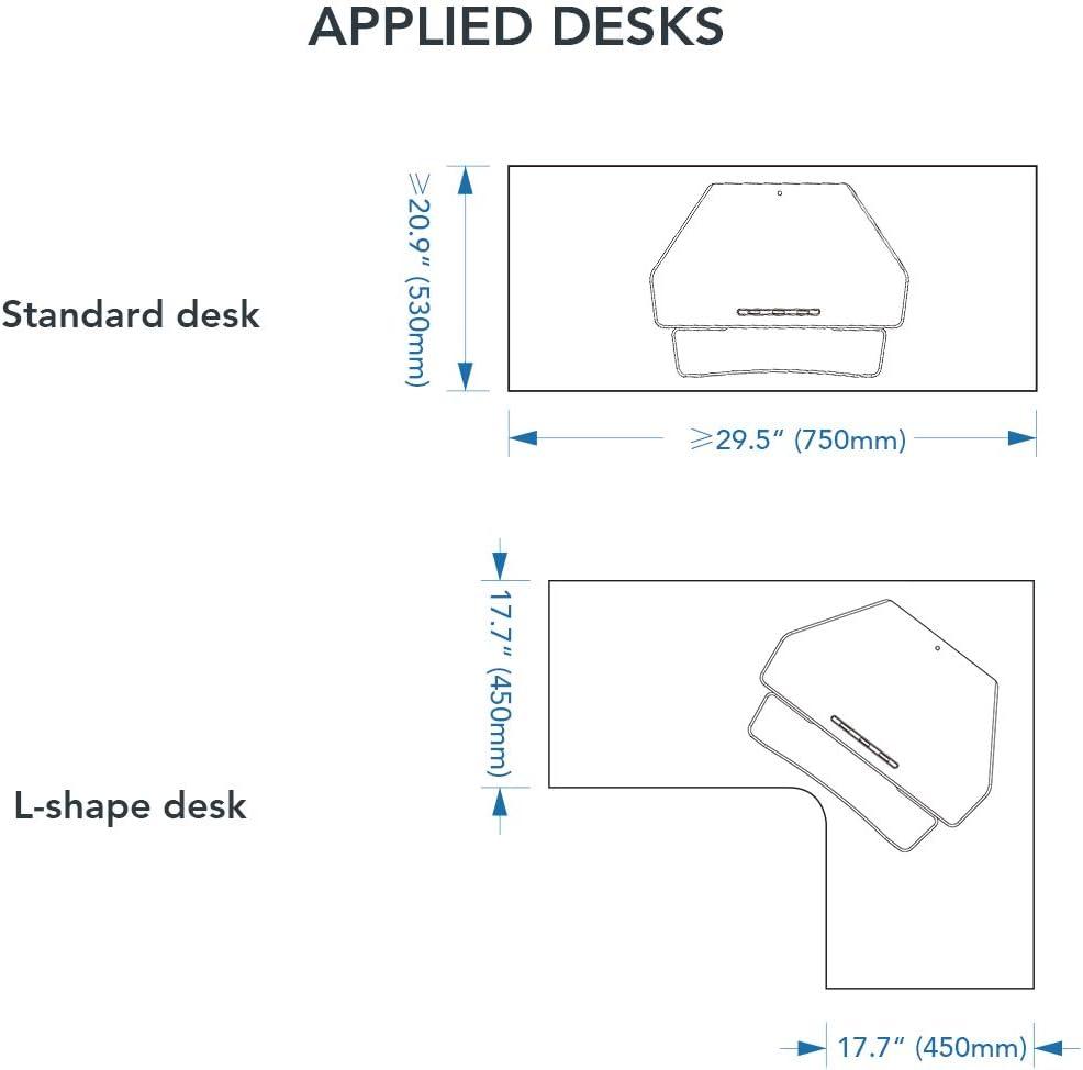 FlexiSpot M7C Stand Up Desk Converter - 36