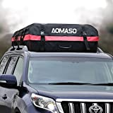Aomaso Car Top Carrier Waterproof Roof Top Cargo Rack 10 Cubic Feet Storage Box Roof Top Bag for Travel and Luggage Transportation