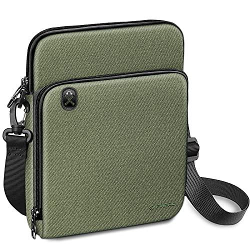 "FINPAC Funda para Tablet de 11"", Bolsa de Hombro Maletín con Cremallera Impermeable para iPad 10.2"" 2019-2021/10.9"" iPad Air 4/10.5"" iPad Air 3/11"" iPad Pro, Huawei T5/T3/M5, Galaxy Tab,"