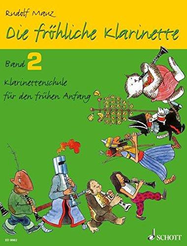Die fröhliche Klarinette. Band 2