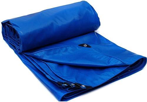 Baches lixin imperméable extérieure en Plastique de (Couleur   Bleu, Taille   6M×4M)