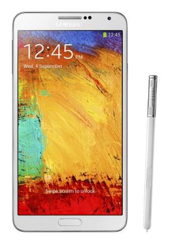 Samsung Galaxy Note 3 N900v 32GB Verizon Wireless CDMA Smartphone - White (Renewed)