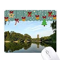 レイクウィルツリータワー ゲーム用スライドゴムのマウスパッドクリスマス