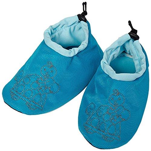 Altabebe AL4010-01 Travel Shoes ter bescherming van de autostoelen, blauw/aqua