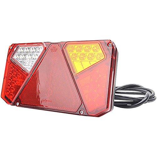 SecoRüt Led-achterlicht voor aanhanger, knipperlicht, remlicht, achterlicht, reflector, mistachterlicht, achteruitrijlicht