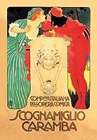 "Scognamiglio Caramba Fineアートキャンバス印刷( 20"" x30"" )"