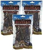 (3 Pack) Pure Buffalo Buffalo Meat Strips - 3.5 oz