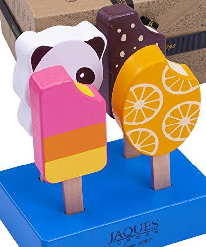 Jaques von London Lebensmittel Holz Perfekt Zusatz zu küchenspielzeug für Kinder Perfekt Montessori Spielzeug 2 3 4 5 Jahre und holzspielzeug seit 1795