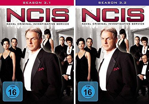 Navy CIS Staffel 03 (3.1 + 3.2) im Set - Deutsche Originalware [7 DVDs]