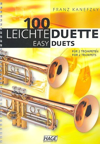 Edition Hage 100 leichte Duette Trompete