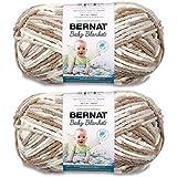 Bernat Baby Blanket Big Ball Yarn (2-Pack) Little Sandcastles 161104-4011