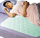 Priva Premium Absorbent Waterproof Sheet and Mattress Protector With Ultra-Dry Surface, 7 Cups Absorbency, 34x36