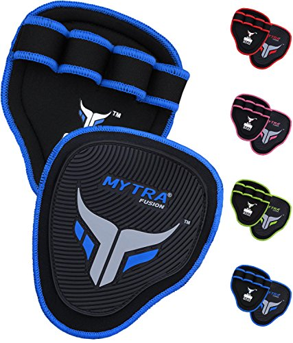 Mytra Fusion Grip Pads Gym Bar Grips Gym Hand Grip for Men Women Workout Crossfit Grip Pads Weight Lifting Grip Weightlifting Pad Weightlifting Palm Grips Palm Grip Gloves Hand Grips Gymnastics Pad