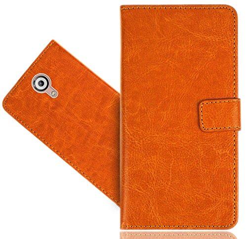 FoneExpert® Wiko U Feel Lite Handy Tasche, Wallet Hülle Flip Cover Hüllen Etui Hülle Premium Ledertasche Lederhülle Schutzhülle Für Wiko U Feel Lite