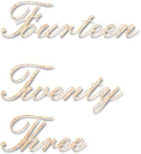 Houten deur Opknoping Woonkamer Decor Script Adres Teken Hout, Script Huis Nummers, Aangepaste Huis Nummers Teken Cursief,...