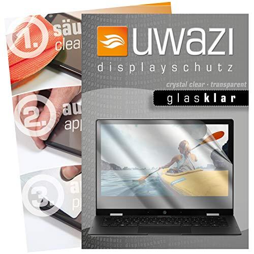 uwazi I 3X Glas-klare Schutzfolie für Medion Akoya E3222 Bildschirmschutzfolie I Folie I Anti Fingerabdruck I Anti Kratzer
