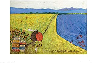 Sam Toft I Would Walk To The End Of The World With You Print 30x40cm